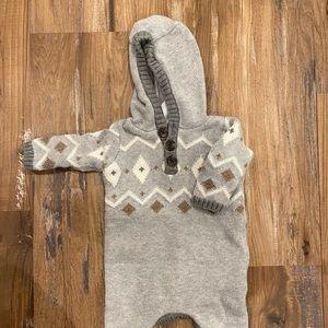 Newborn Sweater Onesie